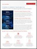 Transform Ecommerce and Retail through Real-Time Data and Analytics