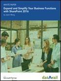 Expand and Simplify Your Business Functions with SharePoint 2016