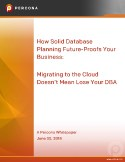 Migrating to the Cloud Doesn't Mean Lose Your DBA