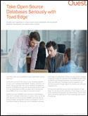 Take Open Source Database Seriously with Toad Edge