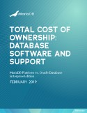 Total Cost of Ownership Analysis: How Much Can You Reduce Costs by Replacing Oracle Database?