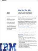 IBM Big SQL