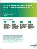 The Horsepower of Hadoop: Fast and Flexible Insight with Results