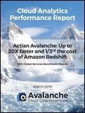 Avalanche vs Redshift TCO Benchmark Report