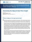 Harnessing the Edge for Real-Time Insight