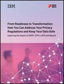 From readiness to transformation: How to address privacy regulations and keep your data safe