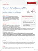 Debunking the free open source myth