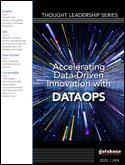 Accelerating Data-Driven Innovation with DataOps