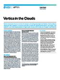 Vertica in the Clouds