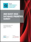 The 2020 Quest IOUG Database Priorities Survey