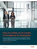 How to Create an AI Center of Excellence for Enterprise