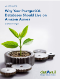 Why Your PostgreSQL Databases Should Live on Amazon Aurora