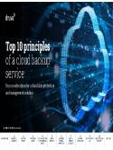 eBook: Top 10 principles of a cloud backup service
